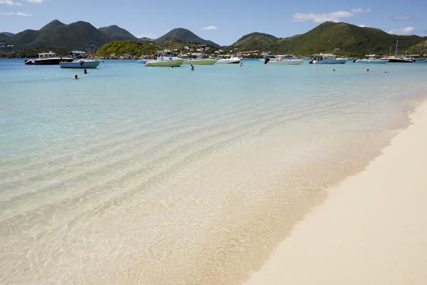 St Martin Pinel Island