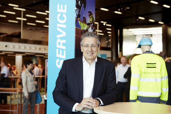 Ronnie Leten President & CEO at Atlas Copco